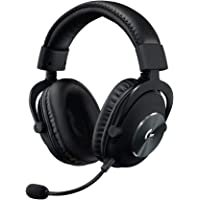 Logitech G PRO X Gaming Headset (2nd Generation) with Blue VO!CE, DTS Headphone:X 7.1 and 50 mm PRO-G Drivers (for PC…
