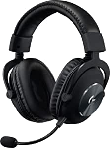 Logitech G PRO X Gaming Headset 2nd Generation, Detachable Pro-Grade Microphone, Blue VO!CE, DTS Headphone:X 7.1, 50 mm PRO-G Drivers, PC/PS4/Switch/Xbox One/VR - Black