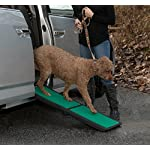 Pet Gear Travel Lite Ramp with supertraX Surface for Maximum Traction, 4 Models to Choose from, 42-71 in. Long, Supports 150-200 lbs, Find The Best Fit for Your Pet 9