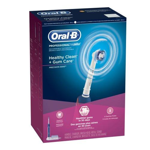 Oral-B Professional propre et sain + Gum Care Precision 3000 dents électrique rechargeable 1 comte