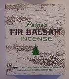 1 X 72 Balsam Logs – Paine's Fir Balsam Incense
