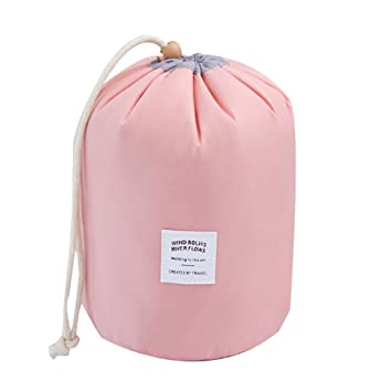 Amazon.com: okdeals con forma de barril neceser de viaje ...