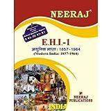 EHI1-Modern India - 1857-1964