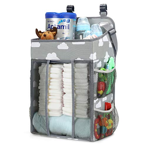 Why Choose Magicfly Hanging Diaper Caddy Organizer, Diaper Stacker for Changing Table, Crib, Playard...