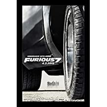 Fast & Furious: Furious 7 - 11x17 Framed Movie Poster by Wallspace