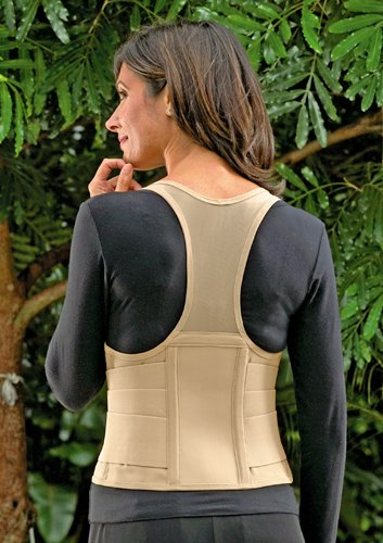 SPECIAL PACK OF 3-Cincher Female Back Support Small Tan