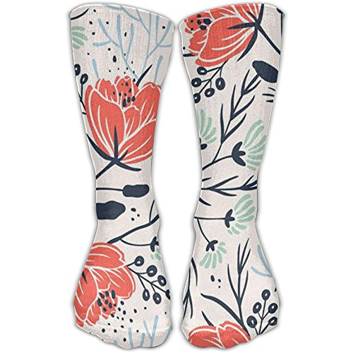 Floral Patterns Ideas On Pinterest Men And Women Casual Socks (1 Pair) Novelty 3D Printing Socks Beautiful Stretch Compression Socks For Stocking Pinterest Outdoor Ideas