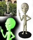 Latex UFO Alien Head Mask Predator et Alien Party Costumes Fancy Dress Halloween Accessory (Alien Sculpture)