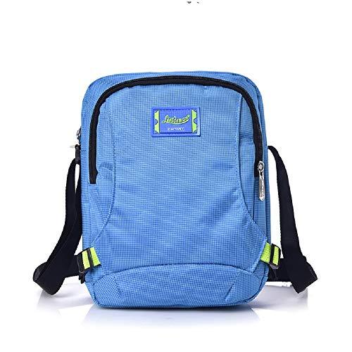 Prueba de de Nylon de Tendencia de de Vendimia la de la Cartera Bolso Bolso Azul de Moda a Nylon Ocasional Agua Bolso de Mensajero Hombro Hombro ZHRUI de la la de XSW8zFqP
