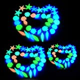 Product review for DEESEE(TM) 20 Pcs Glow In The Dark Stones Pebbles Rock For FISH TANK AQUARIUM Garden