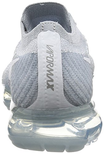 Nike Womens Air Vapormax Flyknit Scarpe Da Corsa Platino / Bianco