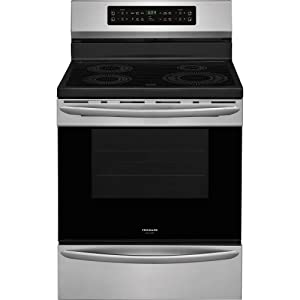 Frigidaire FGIF3036TF Gallery Series 30 Inch Freestanding Electric Range with 4 Elements, Smoothtop Cooktop, 5.4 cu. ft. Primary Oven Capacity, in Stainless Steel