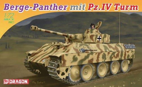 1/72 IV Panzer turret-mounted Berge Panter
