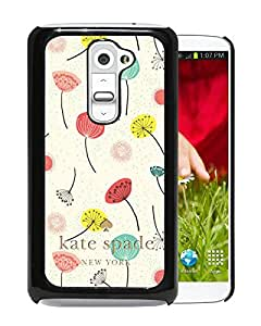 Unique And Beautiful Designed Kate Spade Cover Case For LG G2 Black Phone Case 61