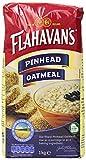 FLAHAVAN'S Pinhead Oatmeal, 35.27-Ounce Bags (Pack of 6)