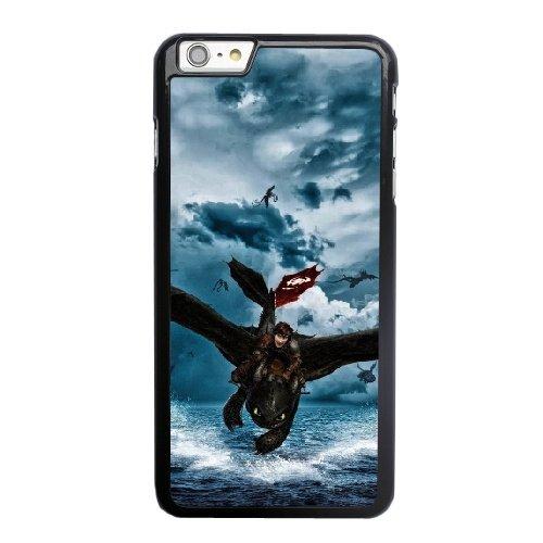 Coque,Apple Coque iphone 6 6S plus (5.5 pouce) Case Coque, Generic Train Your Dragon 2 Cover Case Cover for Coque iphone 6 6S plus (5.5 pouce) Noir Hard Plastic Phone Case Cover