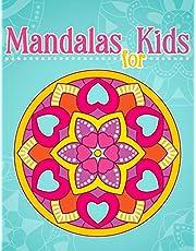 Mandalas for Kids: Coloring Book With Simple Mandala Patterns.