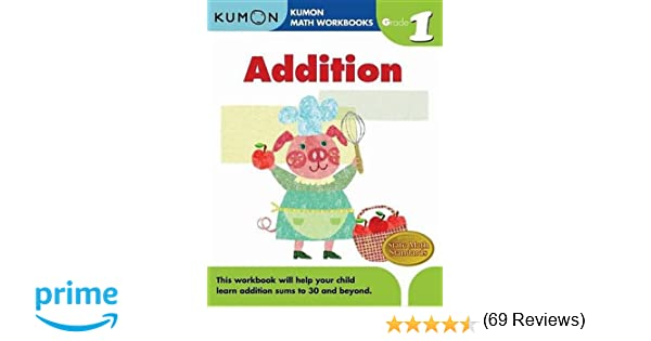 Counting Number worksheets math and money worksheets : Grade 1 Addition (Kumon Math Workbooks): Kumon Publishing ...