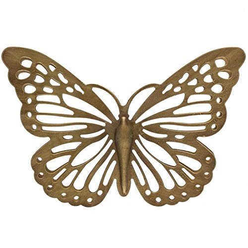 Gold Metal Butterfly Wall Decor