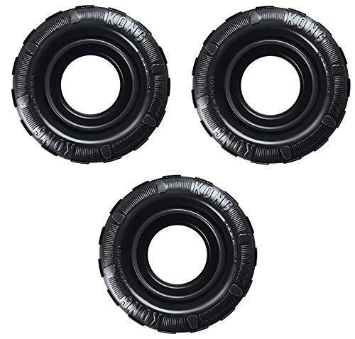 (3 Pack) KONG Tires Extreme Dog Toy, Medium/Large