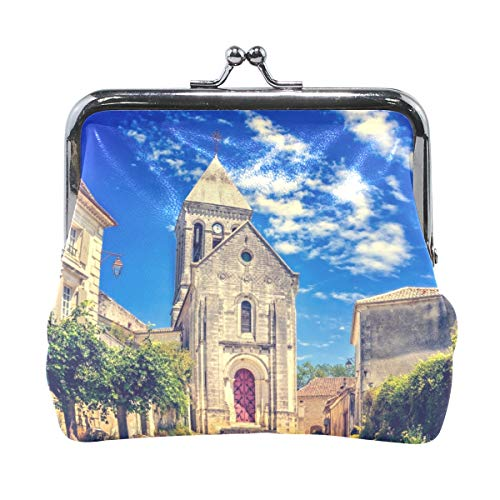 Ethel Ernest French Church Coin Wallets Mini Purse for Womens Girls Ladies by Ethel Ernest