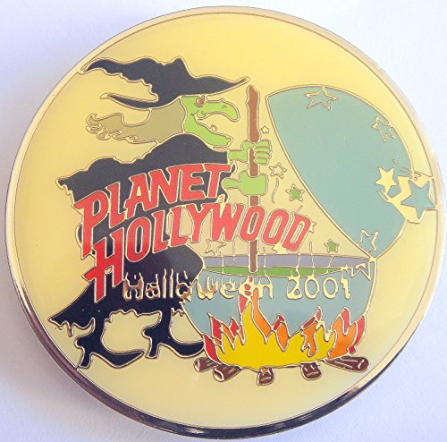 Halloween Witch 2011 Planet Hollywood Pin]()