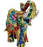 Figura Elefante Mosaico de la Colección Carnival Estilo Trencadis de Antonio Gaudí