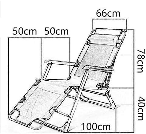 サンラウンジャー、サンラウンジャーリクライニングチェア無重力パティオデッキチェアリクライニングガーデンチェア屋外折りたたみ式ポータブルロッキングチェアサポート200kg(色:グレー)