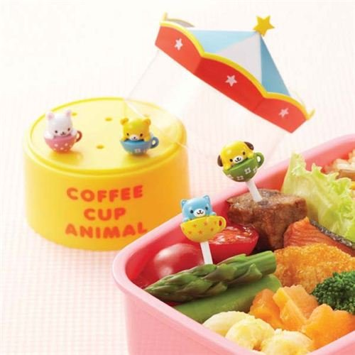 cup carousel food picks storage box bento box lunch box home garden kitchen dining kitchen tools. Black Bedroom Furniture Sets. Home Design Ideas