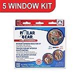 Polar Bear Weatherproofing EXTREME 5 Window Insulation Film Kit - 62 Inch x
