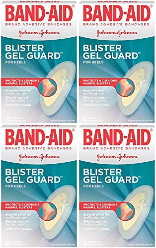 Band-Aid Advanced Protection Blister Adhesive Bandages, 6 Count (Pack of 4) (Band Aid Advanced Healing Blister Cushions)