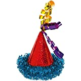 Amscan 250525 Bright Birthday Mini Hair Clip Cone Hat 2 1