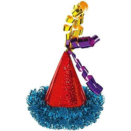 Amazon Amscan 250525 Bright Birthday Mini Hair Clip Cone Hat 2