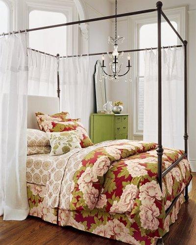 Pottery Barn Antonia Canopy Bed & Amazon.com: Pottery Barn Antonia Canopy Bed: Home u0026 Kitchen