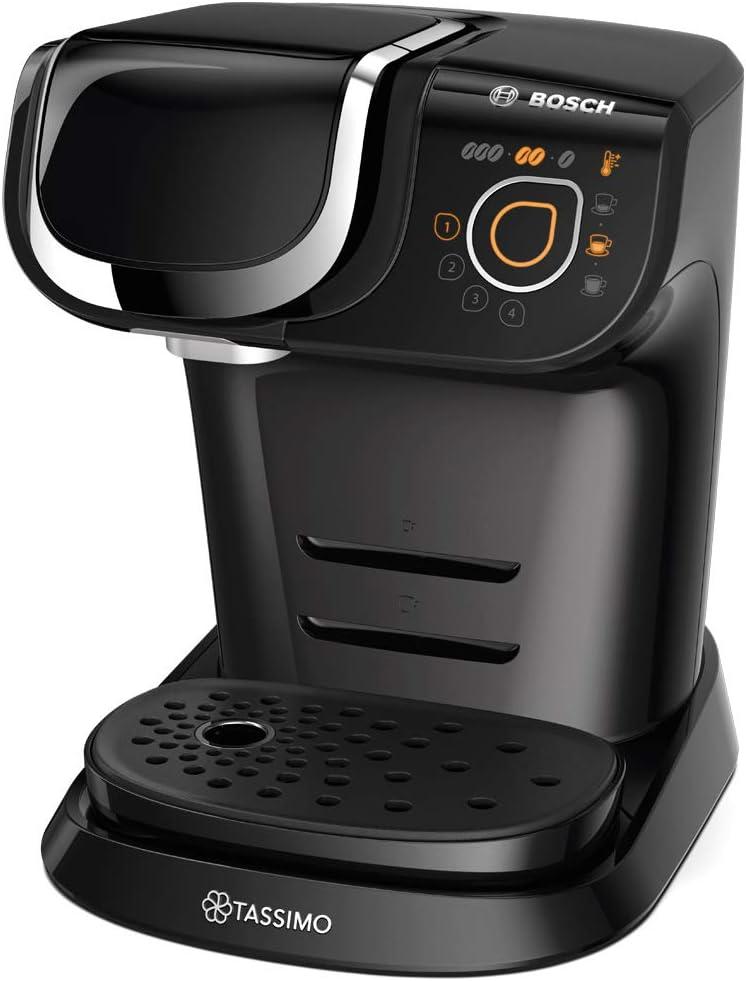 Bosch TAS6002X Tassimo My Way Cafetera automática, color negro, incluye dos paquetes de cápsulas de café LOr, 1500 W, 1.3 litros, Plástico: Amazon.es: Hogar