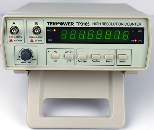 Computer Frequency Counter : Tekpower tp intelligent frequency counter hz to