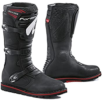 Amazon.com: Forma Boulder Trials Off-road Motorcycle Boots (Black ...