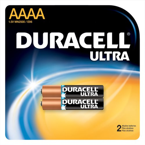Duracell MX2500B2PK Photo Batteries, Size AAAA (2 Batteries) (Pack of 8) by Duracell