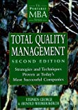 Total Quality Management, Stephen George and Arnold Weimerskirch, 0471191744