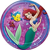 Little Mermaid Lunch Plates