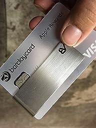 ALASKA BEAR - Classic Silver Cash Money Clip Credit Card Holder