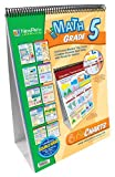 NewPath Learning Math Curriculum Mastery Flip Chart Set, Grade 5