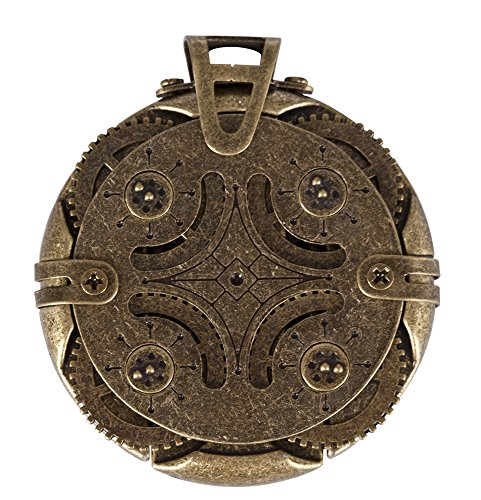 Steampunk Cryptex Round Lock USB Flash Drive 16 GB