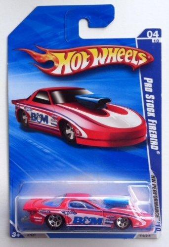 (Hot Wheels 1:64 Scale 2010 HW PERFORMANCE 110/214 PRO STOCK FIREBIRD)