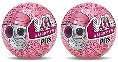 L.O.L. Surprise!! Pets Series 4 (2Pack) Dolls, Multicolor from MGA Entertainment