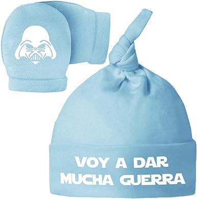 ClickInk Pack Gorro y Manoplas recién Nacido. Voy a Dar Mucha ...