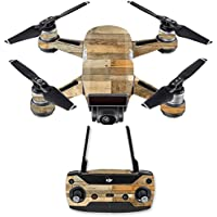 Skin for DJI Spark Mini Drone Combo - Reclaimed Wood| MightySkins Protective, Durable, and Unique Vinyl Decal wrap cover | Easy To Apply, Remove, and Change Styles | Made in the USA