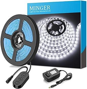 MINGER Dimmable LED Light Strip Kit For Home