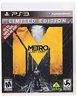 Metro: Last Light, Limited Edition - Playstation 3 (B0053BSMYW) | Amazon price tracker / tracking, Amazon price history charts, Amazon price watches, Amazon price drop alerts