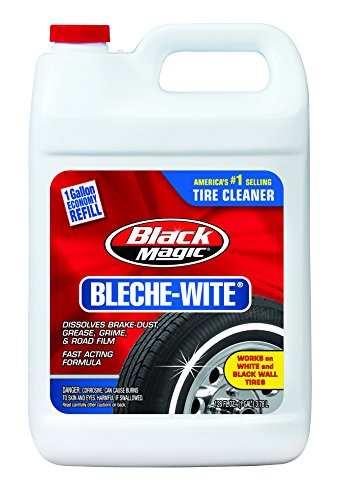 Black Magic 800002222 Bleche-Wite Tire Cleaner, 1 Gallon